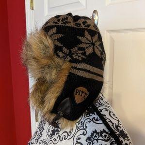 Fur lined winter hat PITT